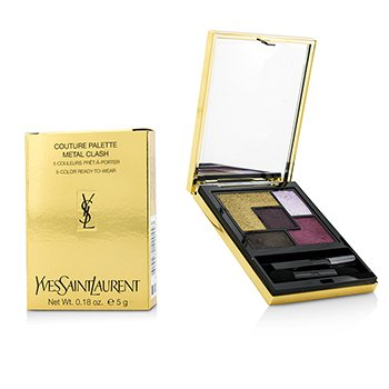 Yves Saint Laurent Couture Palette Fall Collection (5 Color Ready To Wear) - #Metal Clash (Limited Edition)  5g/0.18oz