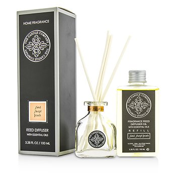 The Candle Company Reed Diffuser with Essential Oils - Sand Swept Peach  100ml/3.38oz