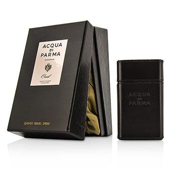 Acqua Di Parma Woda kolońska w sprayu podróżna Colonia Oud Eau De Cologne Concentree Leather Travel Spray  30ml/1oz