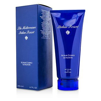 Acqua Di Parma Blu Mediterraneo Italian Resort Smoothing Body Scrub - Pembersih Badan  200ml/6.7oz