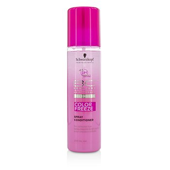 Schwarzkopf Odżywka do włosów farbowanych BC Color Freeze pH 4.5 Spray Conditioner (For Coloured Hair)  200ml/6.7oz