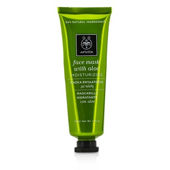 Apivita Face Mask with Aloe - Moisturizing  50ml/1.78oz