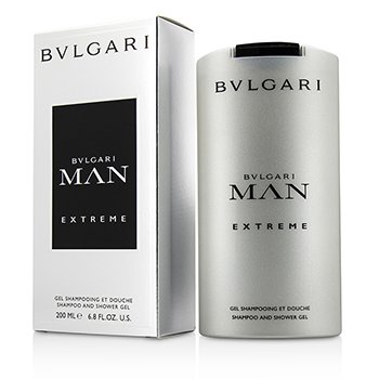 Bvlgari Man Extreme Shampoo & Shower Gel  200ml/6.8oz