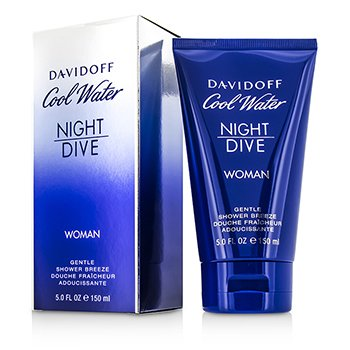 Davidoff نسيم الدش اللطيف Cool Water Night Dive  150ml/5oz