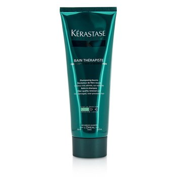 Kerastase Resistance Bain Therapiste Balm-In -Shampoo Fiber Quality Renewal Care (For Very Damaged, Over-Porcessed Hair)  250ml/8.5oz