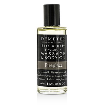 Demeter Fireplace Massage & Body Oil  60ml/2oz