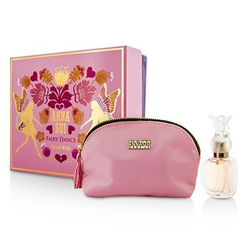 Anna Sui Secret Wish Fairy Dance Coffret: Eau De Toilette Spray 30ml/1oz + Cosmetic Pouch  1pc+1pouch