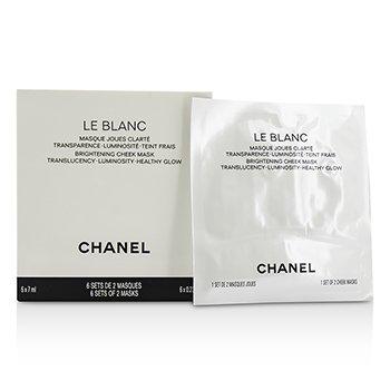 Chanel Le Blanc Mască Strălucitoare pentru Obraji  6x7ml/0.23oz