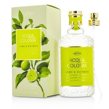 4711 Woda kolo�ska Acqua Colonia Lime & Nutmeg Eau De Cologne Spray  170ml/5.7oz