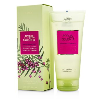 4711 Acqua Colonia Pink Pepper & Grapefruit ג׳ל רחצה ארומה  200ml/6.8oz