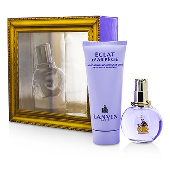 Lanvin Eclat D'Arpege Coffret: Eau De Parfum Spray 50ml/1.7oz + Body Lotion 100ml/3.3oz  2pcs