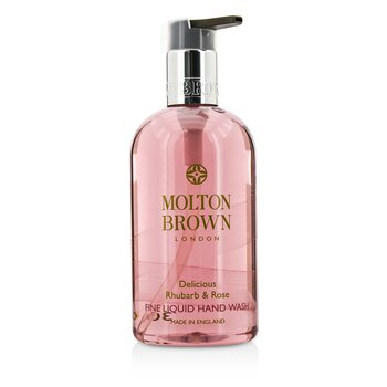 Molton Brown Delicious Rhubarb & Rose Limpiador Líquido Fino de Manos  300ml/10oz