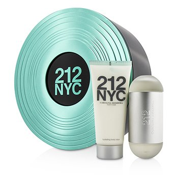 Carolina Herrera 212 NYC Coffret: Eau De Toilette Spray 60ml/2oz + Body Lotion 100ml/3.4oz  2pcs