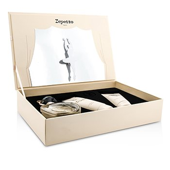 Repetto Repetto Coffret: Eau De Toilette Spray 80ml/2.6oz + Loción Corporal 100ml/3.3oz + Gel de Ducha 100ml/3.3oz  3pcs