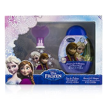 Air Val International ชุด Disney Frozen Coffret: สเปรย์น้ำหอม EDT 100ml/3.4oz + เจลอาบน้ำ Shower Gel & Shampoo 300ml/10.2oz  2pcs
