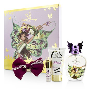 Winx Fairy Couture Stella Chic Essence Coffret: Eau De Toilette Spray 100ml/3.4oz + Body Lotion 75ml/2.55oz + Rollerball 5ml/0.17oz + Hair Clip  4pcs