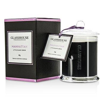 Glasshouse Triple Scented Candle - Manhattan (Little Black Dress)  60g