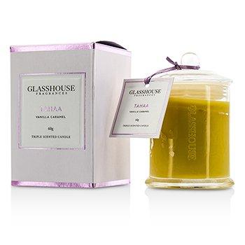 Glasshouse Triple Scented Candle - Tahaa (Vanilla Caramel)  60g