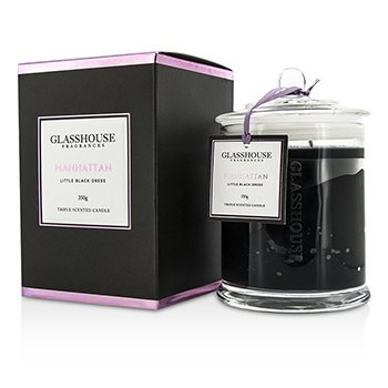 Glasshouse Triple Scented Candle - Manhattan (Little Black Dress)  350g