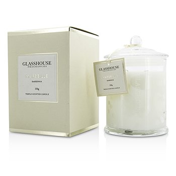 Glasshouse Triple Scented Candle - Marseille (Gardenia)  350g