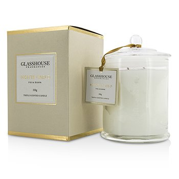 Glasshouse Triple Scented Candle - Monte Carlo (Fig & Guava)  350g