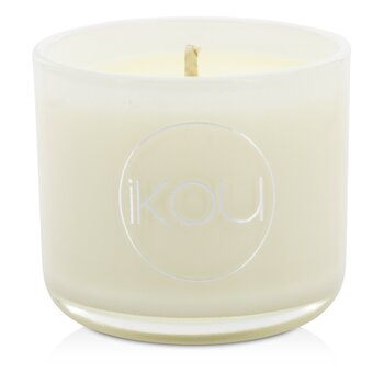 iKOU Eco-Luxury Aromacology Lumânare Ceară Naturală Pahar - Calm (Lemongrass & Lime)  (2x2) inch