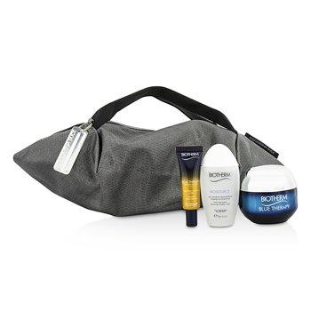 Biotherm Blue Therapy X Mandarina Duck Coffret: Crema SPF15 N/C 50ml +Suero En Aceite 10ml + Agua Limpiadora 30ml + Bolsa  3pcs+1bag