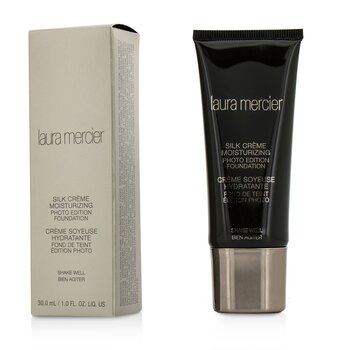 Laura Mercier Silk Creme Moisturizing Photo Edition Foundation - #Pecan  30ml/1oz