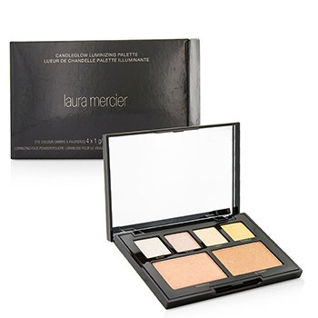 罗拉・玛斯亚  Candleglow Luminizing Palette (4x Eye Colour, 2x Luminizing Face Powder)