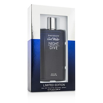 Davidoff Cool Water Night Dive Eau De Toilette Spray  200ml/6.7oz