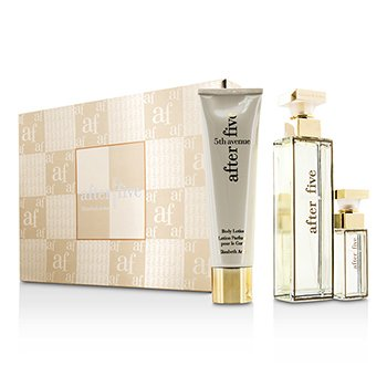 Elizabeth Arden 5th Avenue After Five Coffret: Eau De Parfum Spray 75ml/2.5oz + Body Lotion 100ml/3.3oz + Eau De Parfum Spray 10ml/0.33oz  3pcs