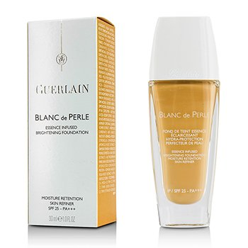 Guerlain Blanc De Perle Essence Infused Brightening Foundation SPF 25 - # 32 Ambre Clair  30ml/1oz