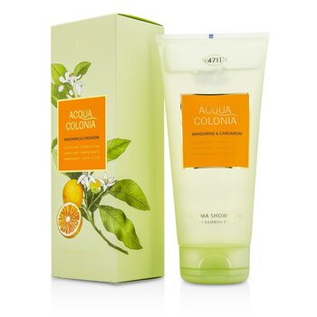 4711 Acqua Colonia Mandarine & Cardamom Aroma Shower Gel  200ml/6.8oz