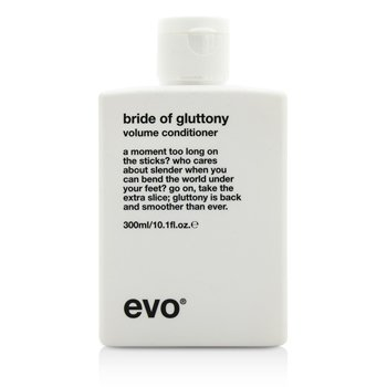 Evo Bride of Gluttony Volume Conditioner (For All Hair Types, Especially Fine Hair)  300ml/10.1oz