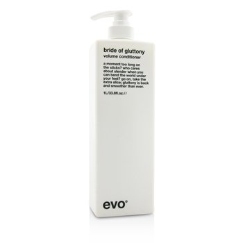 Evo Bride of Gluttony Volume Conditioner (For All Hair Types, Especially Fine Hair)  1000ml/33.8oz