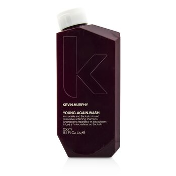 Kevin.Murphy Young.Again.Wash (Immortelle and Baobab Infused Restorative Softening Shampoo - To Dry Brittle Hair)  250ml/8.4oz