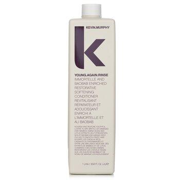 凯文墨菲  Young.Again.Rinse (Immortelle and Baobab Infused Restorative Softening Conditioner - To Dry, Brittle or Damaged Hair)  1000ml/33.6oz