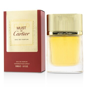 Cartier Must De Cartier Gold Eau De Parfum Spray  50ml/1.6oz