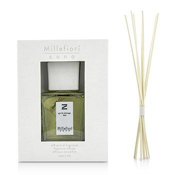 Millefiori Zona Fragrance Diffuser - Spa & Massage Thai  250ml/8.45oz