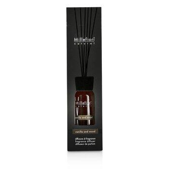 Millefiori Natural Fragrance Diffuser - Vanilla & Wood  100ml/3.38oz