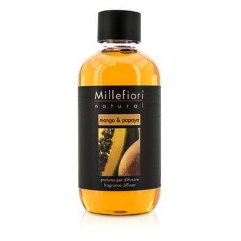 Millefiori معطر طبيعي (عبوة احتياطية) - المانجو والبابايا  250ml/8.45oz