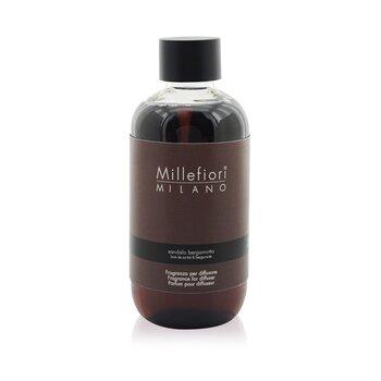 Millefiori Natural Fragrance Diffuser Refill - Sandalo Bergamotto  250ml/8.45oz