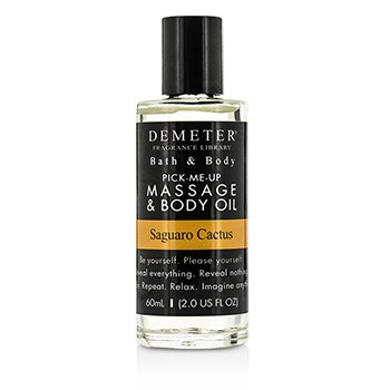 Demeter Saguaro Cactus Massage & Body Oil  60ml/2oz