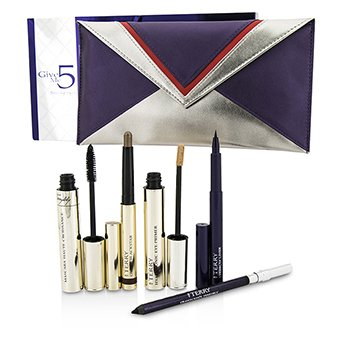 By Terry Give Me 5 Smoky Eyes Set (1x Eye Primer, 1x Lápiz Ojos, 1x Másscara, 1x Delineador Cejas...)  6pcs