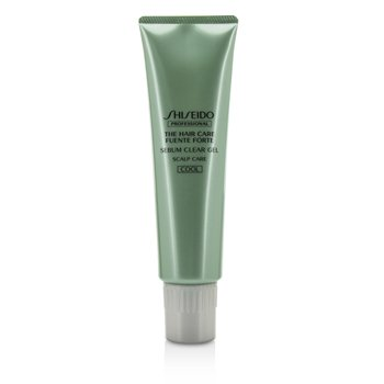 Shiseido Żel do mycia włosów The Hair Care Fuente Forte Sebum Clear Gel - # Cool (Scalp Pre-Cleaner)  150g/5oz