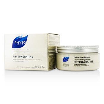 Phyto Phytokeratine Ultra-Repairing Mask (za oslabljenu, oštećenu kosu)  200ml/6.2oz