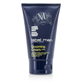 标签M  Men's Grooming Cream (Lightweight Cream, Natural Definition and Control, Nourishes, Builds Thickness and Texture)  100ml/3.4oz