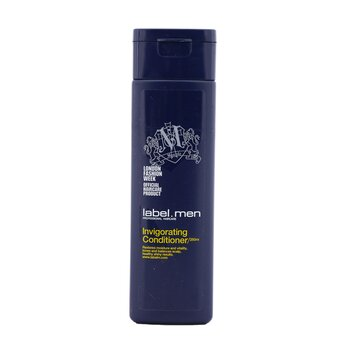 Label.M Men's Invigorating Conditioner (Restores Moisture and Vitality, Tones and Balances Scalp, Healthy Shiny Results)  250ml/8.4oz