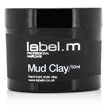 Label.M Mud Clay (Hard-Hold Style Clay)  50ml/1.7oz