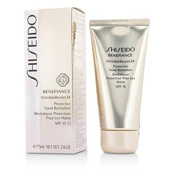 Shiseido Benefiance WrinkleResist24 Revitalizador Manos Protección SPF 15  75ml/2.6oz
